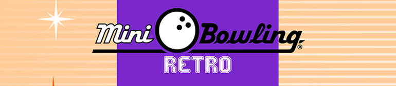 Mini Bowling & Mini Boleras: Mini Bowling Retro